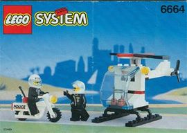 INS6664-G 6664 BOUWBESCHRIJVING- Chopper Cops gebruikt *
