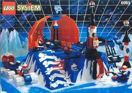 INS6983-G 6983 BOUWBESCHRIJVING- Ice Station Odyssey gebruikt *