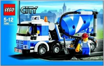 INS7990-G 7990 BOUWBESCHRIJVING- Cement Mixer gebruikt *LOC M4