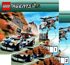 INS8634-G 8634 BOUWBESCHRIJVING- Agents Mission 5 gebruikt *