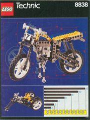 INS8838-G 8838 BOUWBESCHRIJVING- Riding Cycle gebruikt *LOC M7
