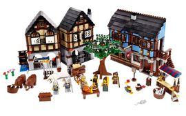 Set 10193 - Kastelen/Ridders: Medieval Market Village- Nieuw