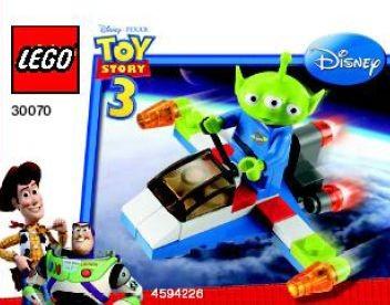 Set 30070 - Toy Story: Alien Space Ship (polybag)- Nieuw