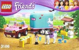 Set 3186 - Friends: Emma's Horse Trailer- Nieuw