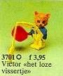 Set 3701-G - Fabuland: Fisherman Cornelius Cat -/-/100%- gebruikt