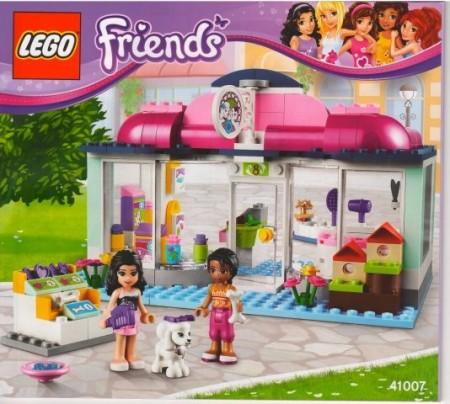 Set 41007 BOUWBESCHRIJVING- Heartlake Pet Salon Friends NIEUW loc