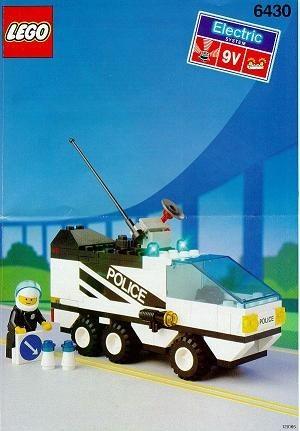 Set 6430 BOUWBESCHRIJVING- Night Patroller gebruikt loc LOC M2