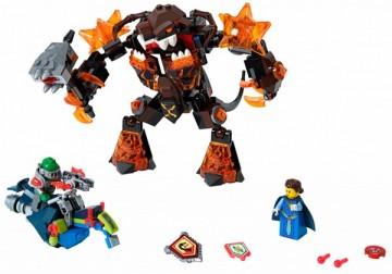 Set 70325-G - Nexo knights: Infernox captures the Queen geen doos I/97%- gebruikt