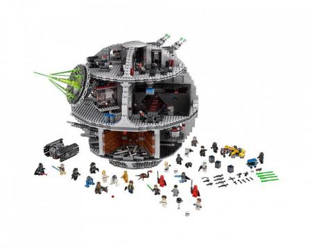 Set 75159-GB Death Star - USC gebruikt deels gebouwd *B036