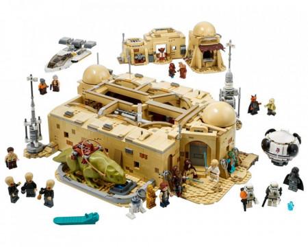 Set 75290-GB Moss Eisley Cantina gebruikt deels gebouwd *B036