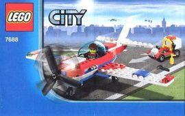Set 7688 - Airport: Sports Plane- Nieuw