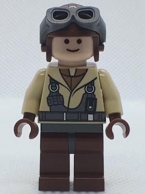 sw160 Star Wars:Naboo Fighter Pilot (7660) NIEUW loc