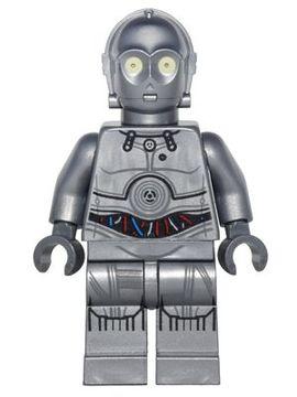 sw766 Star Wars: Silver Protocol Droid (U-3PO) NIEUW loc
