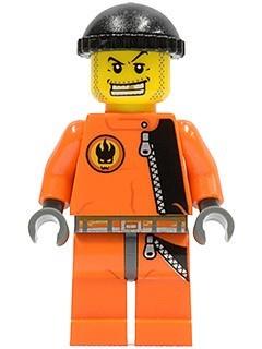 agt008G Helper Agent Chase, oranje pak gebruikt loc