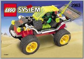 INS2963-G 2963 BOUWBESCHRIJVING- Extreme Racer gebruikt *