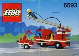 INS6593-G 6593 BOUWBESCHRIJVING- Blaze Battler gebruikt *LOC M3