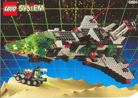 INS6984-G 6984 BOUWBESCHRIJVING- Galactic Mediator gebruikt *