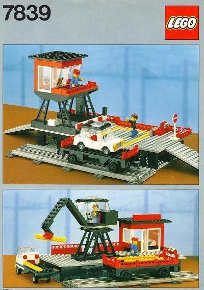 INS7839-G 7839 BOUWBESCHRIJVING- Train Station gebruikt *LOC M4
