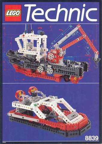 INS8839-G 8839 BOUWBESCHRIJVING- Supply Ship gebruikt *