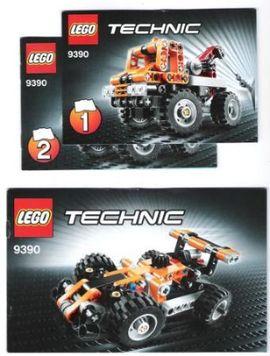 INS9390-G 9390 BOUWBESCHRIJVING- Formule ! Auto gebruikt *