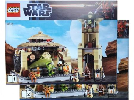 INS9516 9516 BOUWBESCHRIJVING- Jabba's Palace NIEUW *