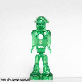 mm001 Alien transparant groen NIEUW loc