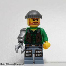 mof006 Monsters: Jack McHammer NIEUW loc Halloween