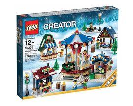 Set 10235 - Holiday: Winter Village Market- Nieuw