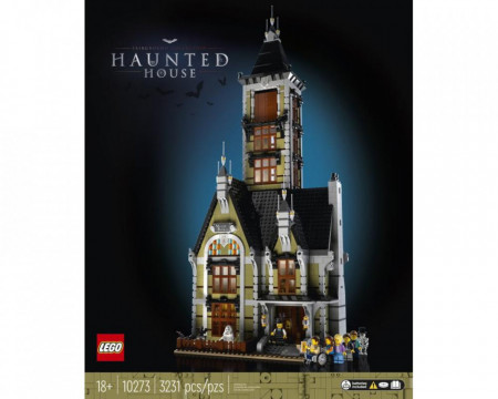 Set 10273-GB Haunted House gebruikt deels gebouwd *B036