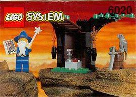 Set 6020 BOUWBESCHRIJVING- Magic Shop  gebruikt loc