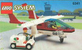 Set 6341 BOUWBESCHRIJVING-  Gas N'Go Flyer Ruimtevaart gebruikt loc