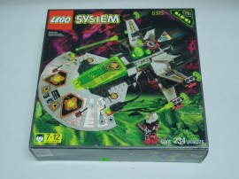 Set 6915-GD - Space: UFO- Warp Wing Fighter D/H/97-100%- gebruikt