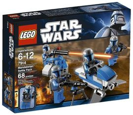 Set 7914 - Star Wars: Mandalorian Battle Pack- Nieuw