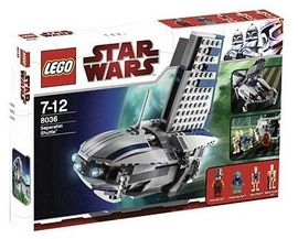 Set 8036 - Star Wars: Separatist Shuttle- Nieuw