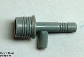 3959-85 Ruimtegeweer (nop) grijs, donker (blauwachtig) NIEUW loc