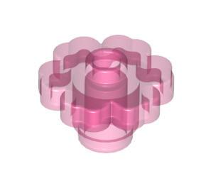4728-50G Bloem 2x2 Trans- donker roze gebruikt loc