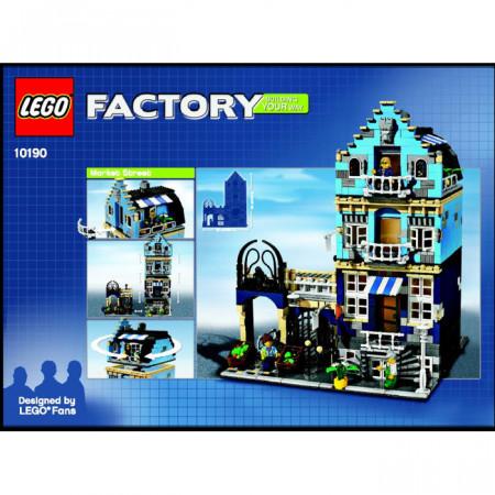 INS10190-1G 10190 BOUWBESCHRIJVING- Market Street gebruikt *