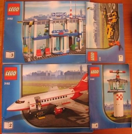 INS3182-G 3182 BOUWBESCHRIJVING- Luchthaven gebruikt *LOC BE