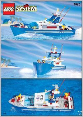 INS4022-G 4022 BOUWBESCHRIJVING- C26 Sea Cutter gebruikt *LOC M1