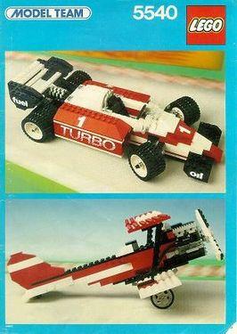INS5540-G 5740 BOUWBESCHRIJVING- Formula 1 Racer gebruikt *