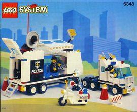 INS6348-G 6348 BOUWBESCHRIJVING- Surveillance Squad gebruikt *LOC M2