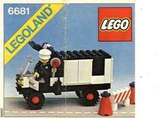 INS6681-G 6681 BOUWBESCHRIJVING- Police Van gebruikt *LOC M3