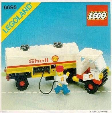 INS6695-PG 6695 BOUWBESCHRIJVING- Shell Tanker gebruikt *LOC M3