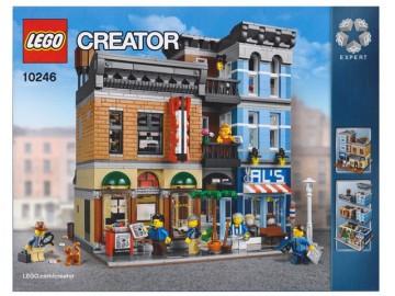 Set 10246 BOUWBESCHRIJVING- Detective's Office  NIEUW loc