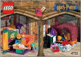 Set 4722 - Harry Potter: Gryffindor- Nieuw