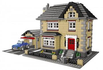 Set 4954-G - Creator: Model Town House D/H/C 97-100%- gebruikt
