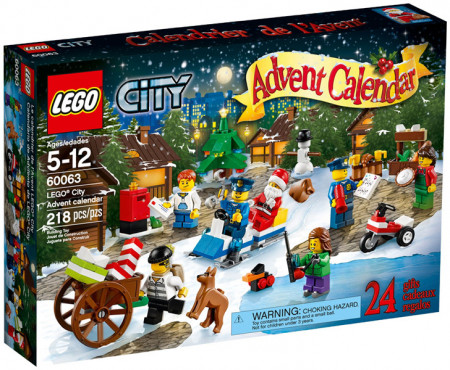 Set 60063 - Advent kalender City 2014- Nieuw