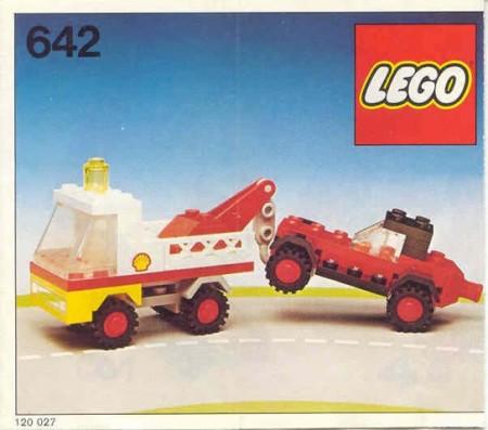 Set 642-2 BESCHRIJVING Sleepwagen en auto gebruikt punchholes loc LOC M1