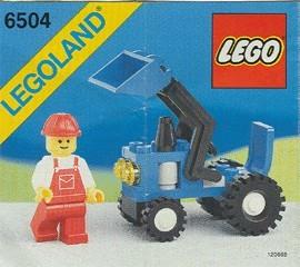 Set 6504 BOUWBESCHRIJVING- Tractor gebruikt loc LOC M2