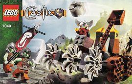 Set 7040 - Kastelen/Ridders: Dwarves' Mine Defender- Nieuw